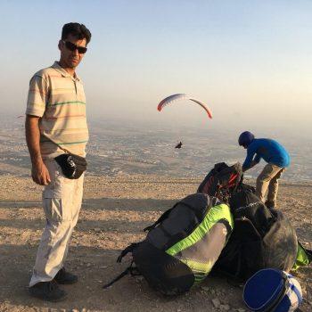 آموزش پرواز با پاراگلایدر